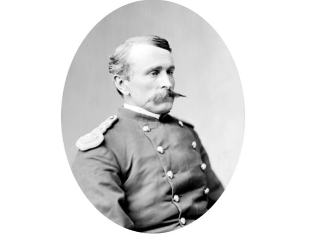 Frank Dwight Baldwin is one of only 19 men to have received two Medals of Honor.