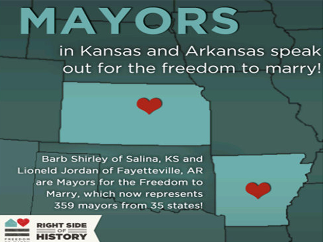 Mayors Join gary marriage support