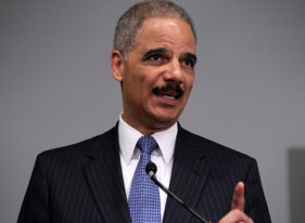 U.S. Attorney General Eric Holder has told Kansas Gov. Sam Brownback that a new state law attempting to block federal regulation of some guns is unconstitutional.