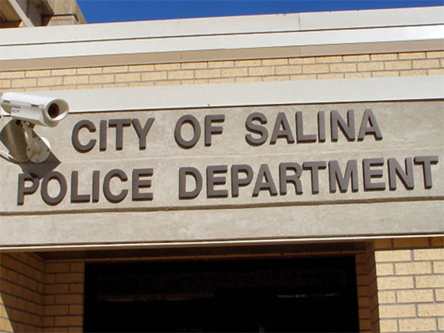 Salina Police are investigating after someone entered a home in the 1400 block of Ponca.