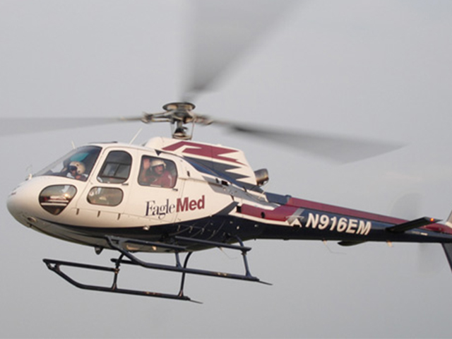A northeast Kansas man is likely facing a $7,000 bill for a 35-mile air ambulance ride after police say he faked injuries that prompted the emergency flight.