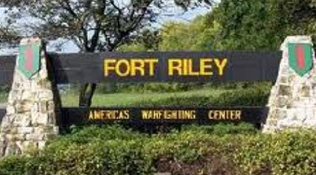 Fort Riley is home to about 18,000 soldiers.