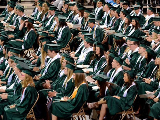 Eight graduation ceremonies were held in Salina over the weekend. (Photo courtesy Yee Mar)