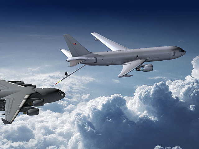 Wichita's McConnell Air Force Base has been selected to be the main operating base for the Air Force's new KC-46A air refueling tanker.
