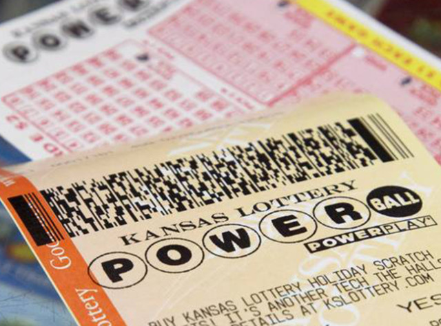 Powerball tickets are sold everywhere Kansas Lottery tickets are sold.