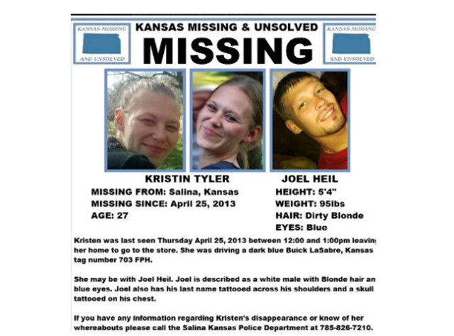 Salina Police are actively looking for a missing woman.