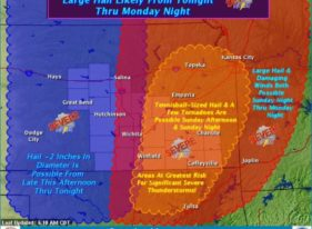 Forecasters are preparing for likely severe weather this weekend.