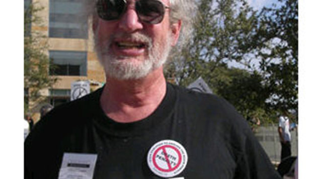 Bill Lucero, whose father was murdered 40 years ago, has been a volunteer for several years with the Kansas Coalition Against the Death Penalty.