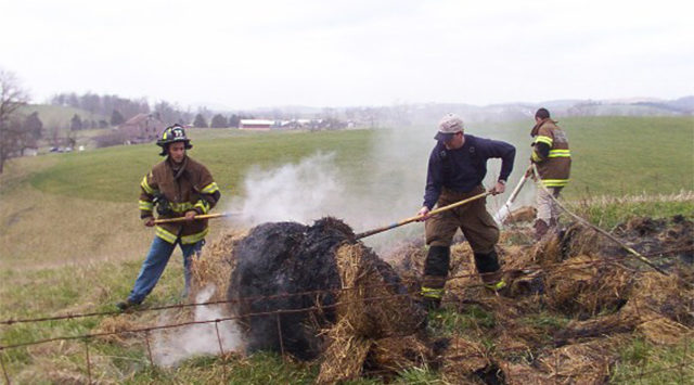 Progress made in large SW Kansas hay fire