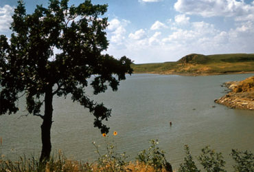 Crews are searching Kanopolis Lake in central Kansas for a teenager who went missing while kayaking with friends