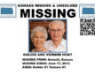 Law enforcement officials are looking for an elderly Kansas couple who have not been heard from since Monday.