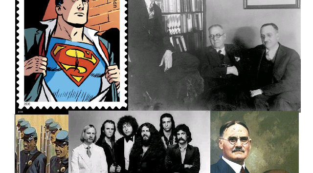 Superman, the inventor of basketball, legendary 1970s rock band Kansas and the 1st Kansas Colored Infantry Regiment are among the 2013 class of inductees in the Kansas Hall of Fame.