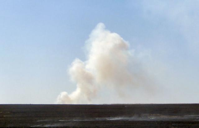 Kansas Fires Blowing Smoke Into Nebraska