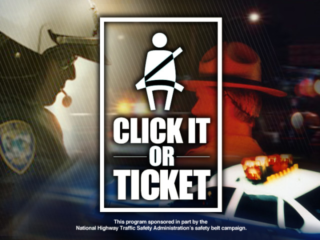 "Over 550 Citiations During ""Click It Or Ticket"""