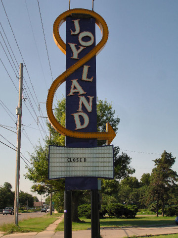 Joyland Slowly Being Demolished