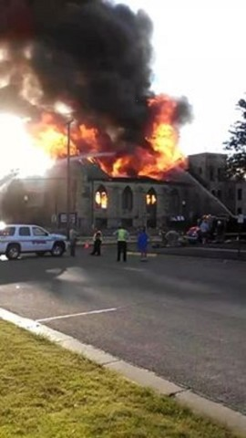 Great Plains Theatre Destroyed By Fire