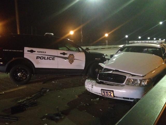 Sheriff Deputy, Police Officer Collide