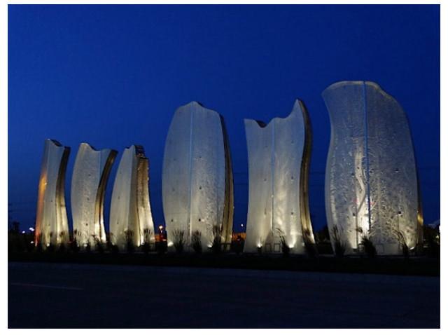 Salina Gateway Sculpture Wins Award