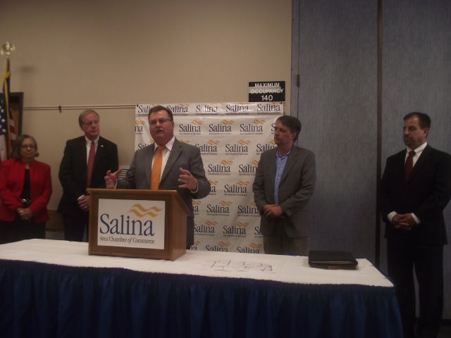 Governor's Cabinet Members Visit Salina