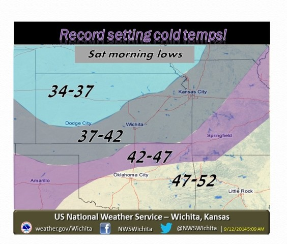 Record Breaking Cold Air Settles In