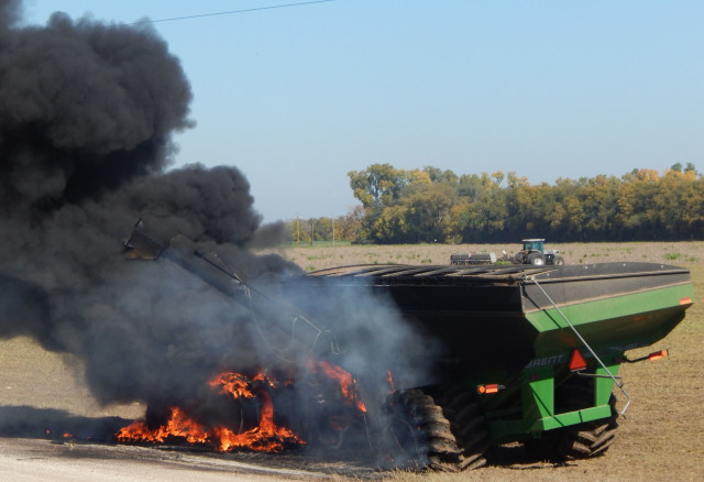 PHOTO GALLERY: Man Shocked In Farm Accident