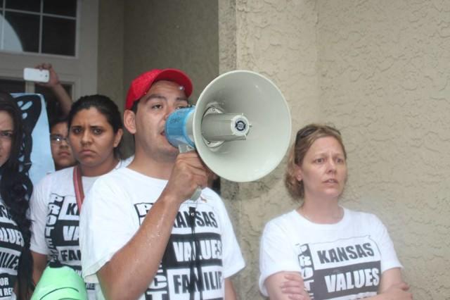 Ferguson Shooting Galvanizes Wichita Protest