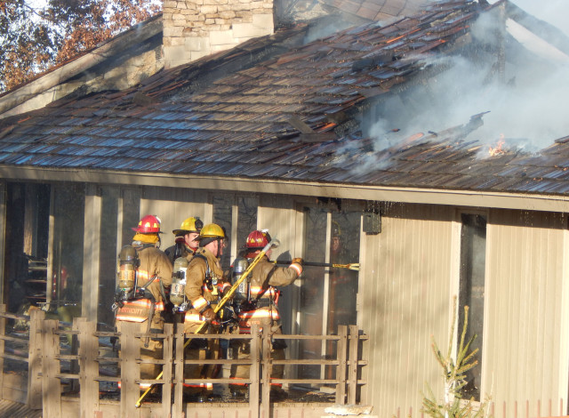 Friday Fire Damages East Salina Home