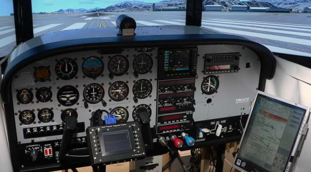 Crash Into Flight Simulator Company Stops Training