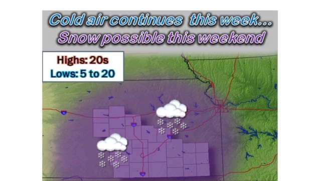 First Measurable Snow Anticipated