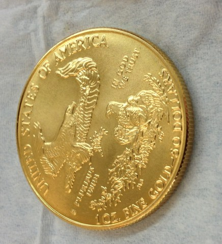 Holiday Gold Coin Gifts