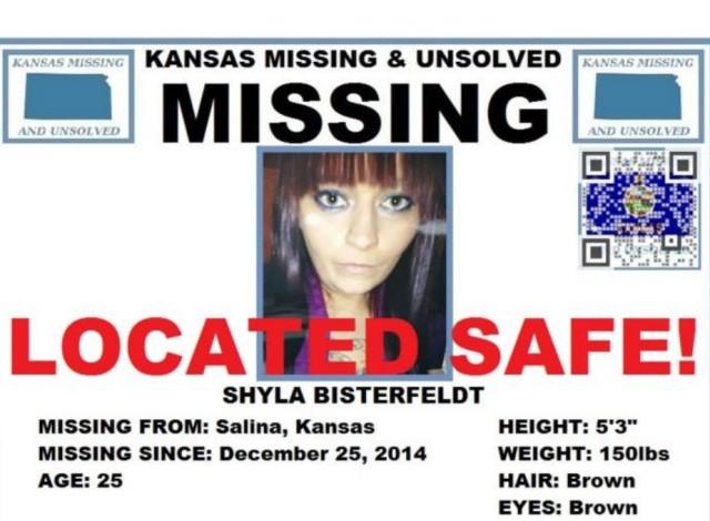 UPDATE: Missing Salina Woman Found