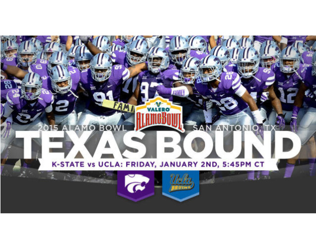K-State To Face UCLA In Alamo Bowl