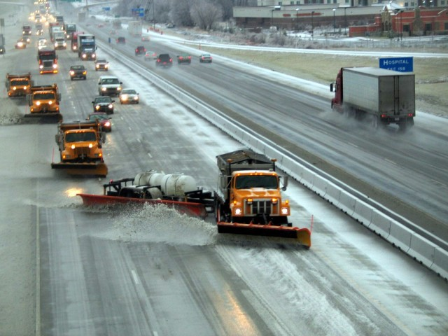 Wichita Residents Can Track Snow Plows With New Online Site