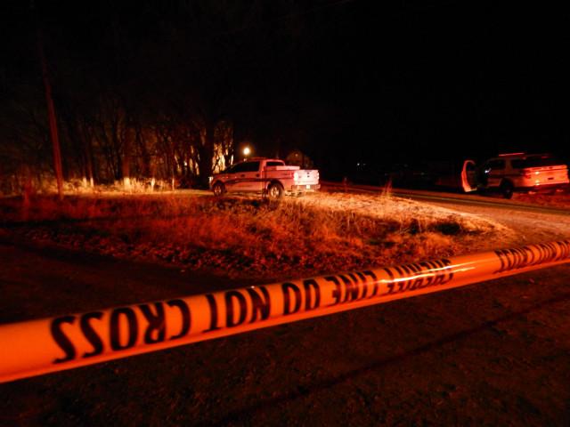 Body Found On Frozen Creek