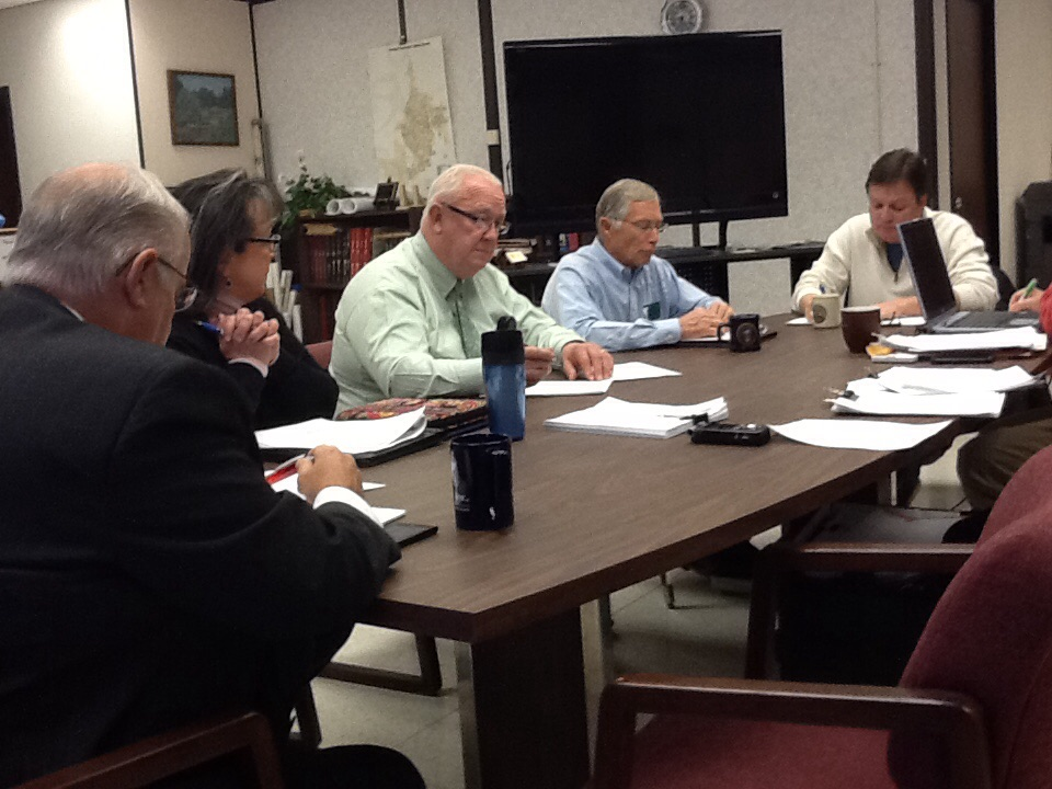 New Saline County Commission Meets