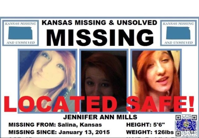 Missing Salina Teen Found Safe