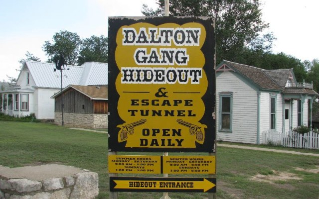 Dalton Gang Attraction Added To Historic List