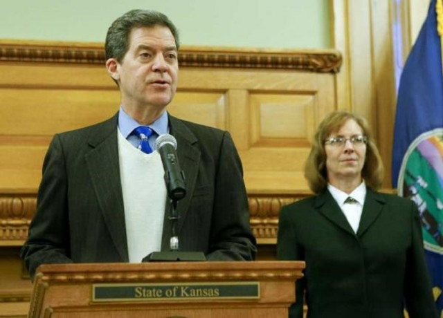 Brownback names federal judge's aide to Kansas appeals court