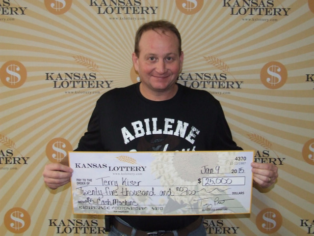 Abilene Man Wins $25,000 Lottery Prize