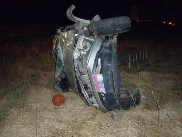 1 Injured in Rollover