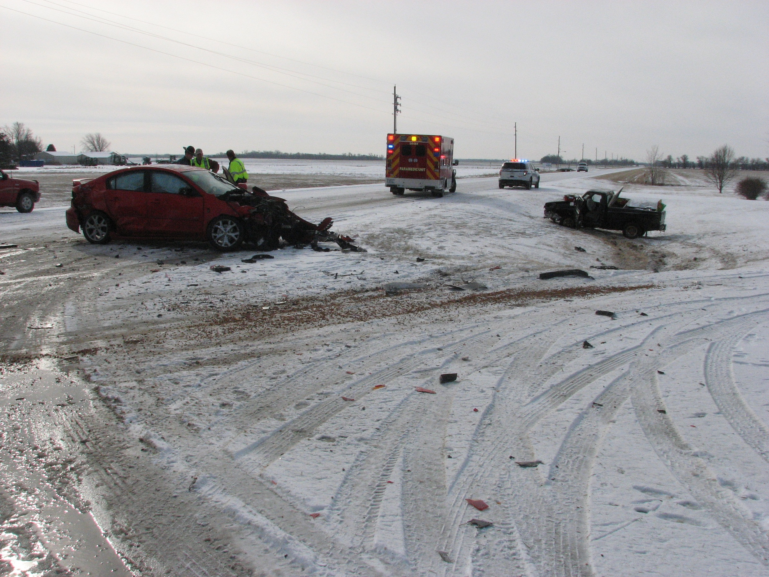 Icy Crash