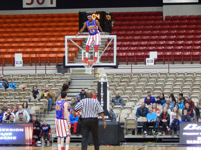 Harlem Globetrotter Coming Back to Salina