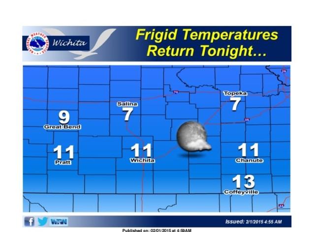 Frigid Temperatures To Return