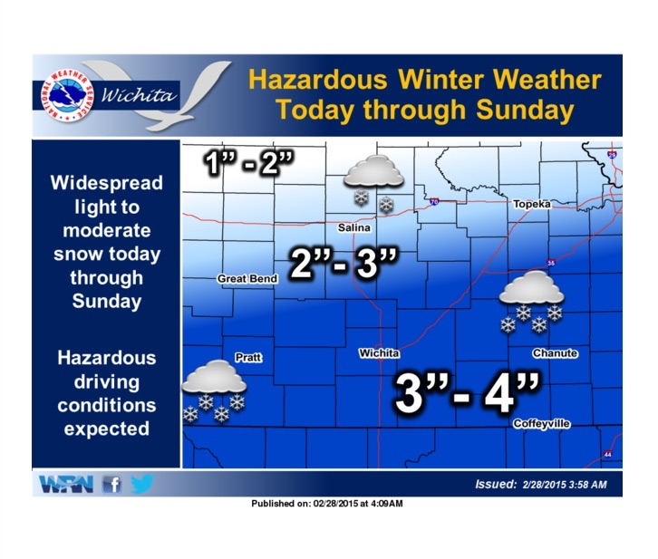 Weekend Of Snow, Ice, Cold