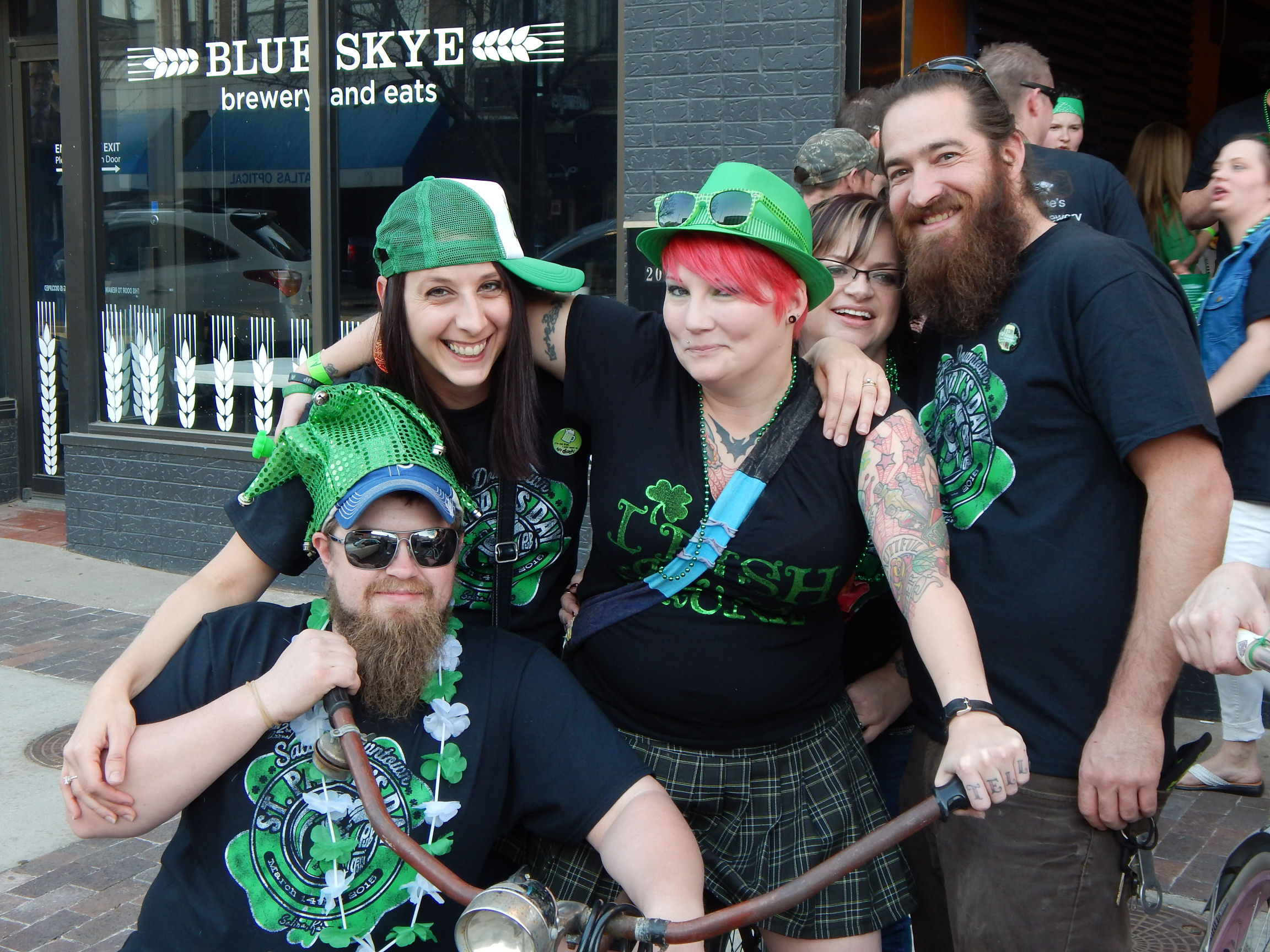 "PHOTO GALLERY: Revelers ""Pub Crawl"" In Downtown Salina"