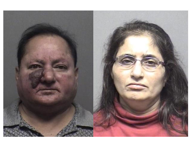 Couple Arrested at Pump Mart
