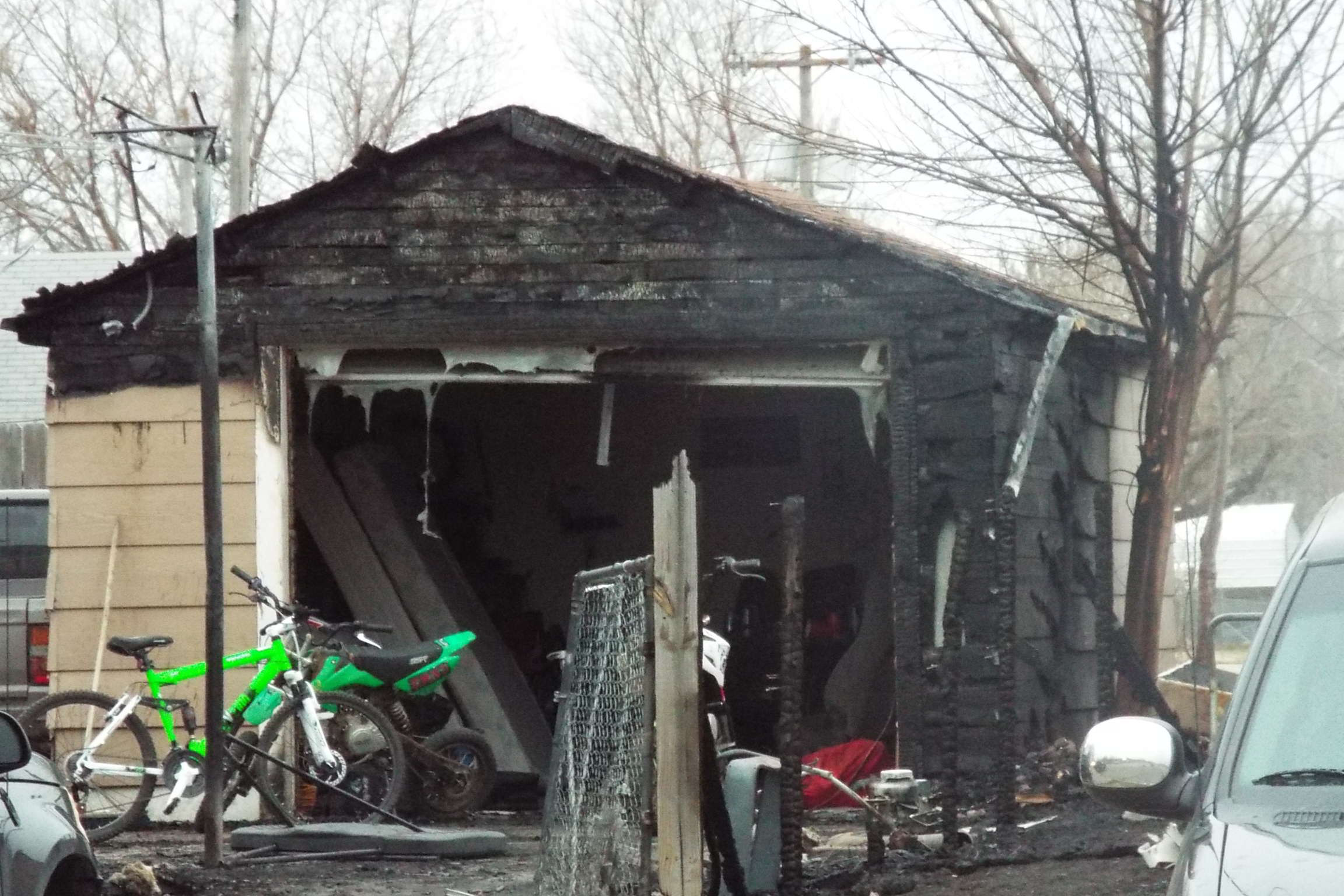 Overnight Fire Damages Homes, Garage