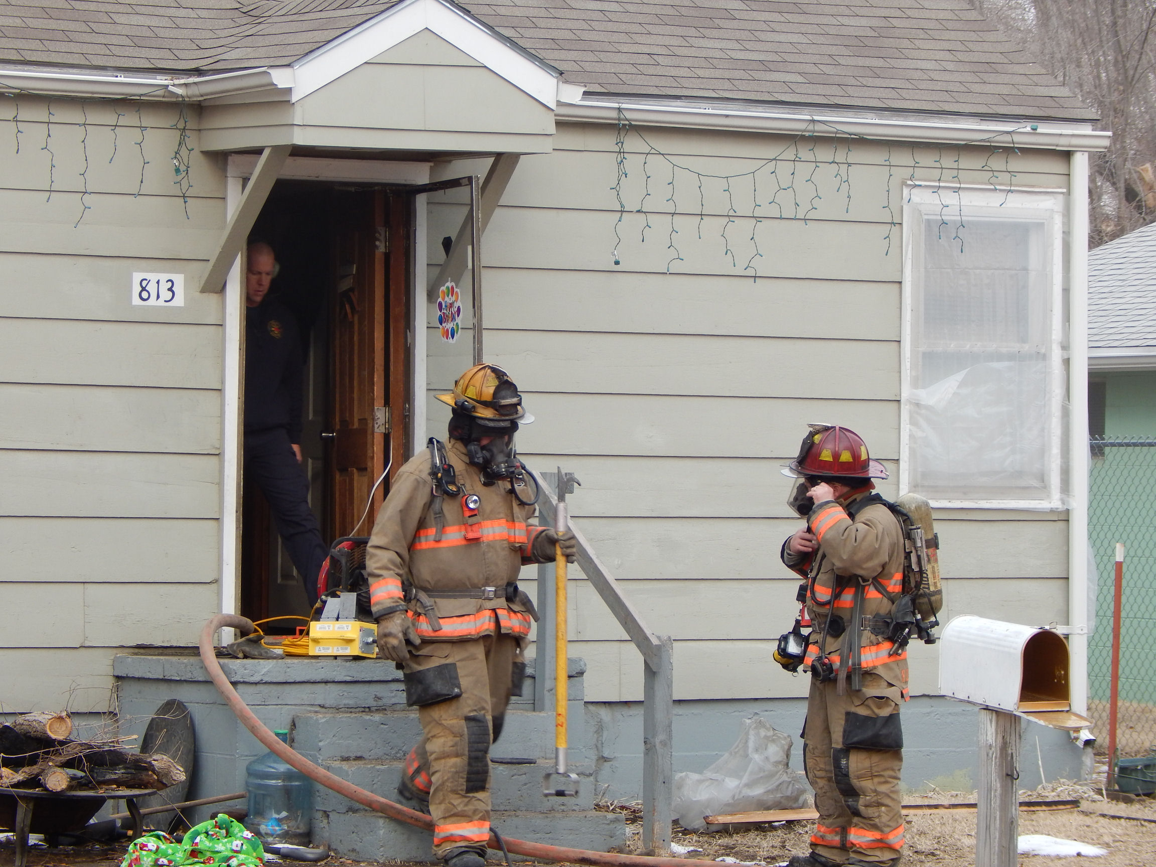 Tuesday Morning House Fire
