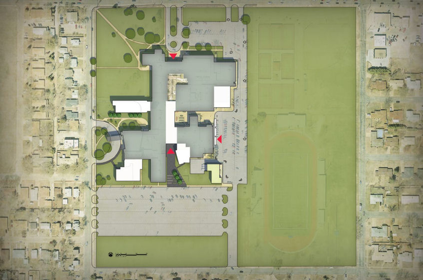 Design For Central High School Approved