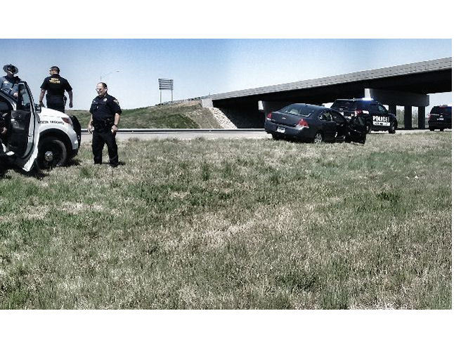 High Speed Chase Ends Near Salina